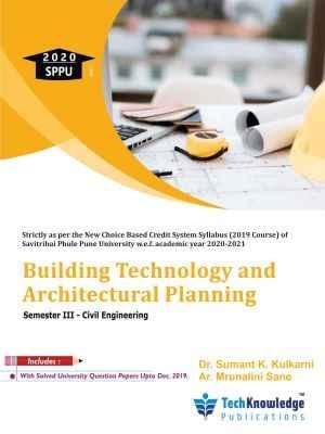Building Technology and Architectural Planning   Civil Sem 3   Techknowledge Pub   SPPU